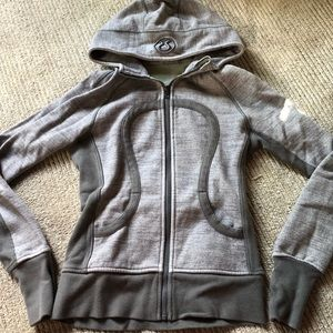 Lululemon scuba hoodie gray